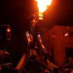Robosaurus at Halloween Horror Nights 17