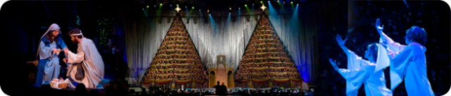 The Singing Christmas Trees 2015 at First Baptist Church of Orlando is the Best Christmas Event in Orlando