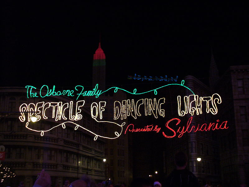 Remembering the Osborne Family Spectacle of Dancing Lights at Hollywood Studios