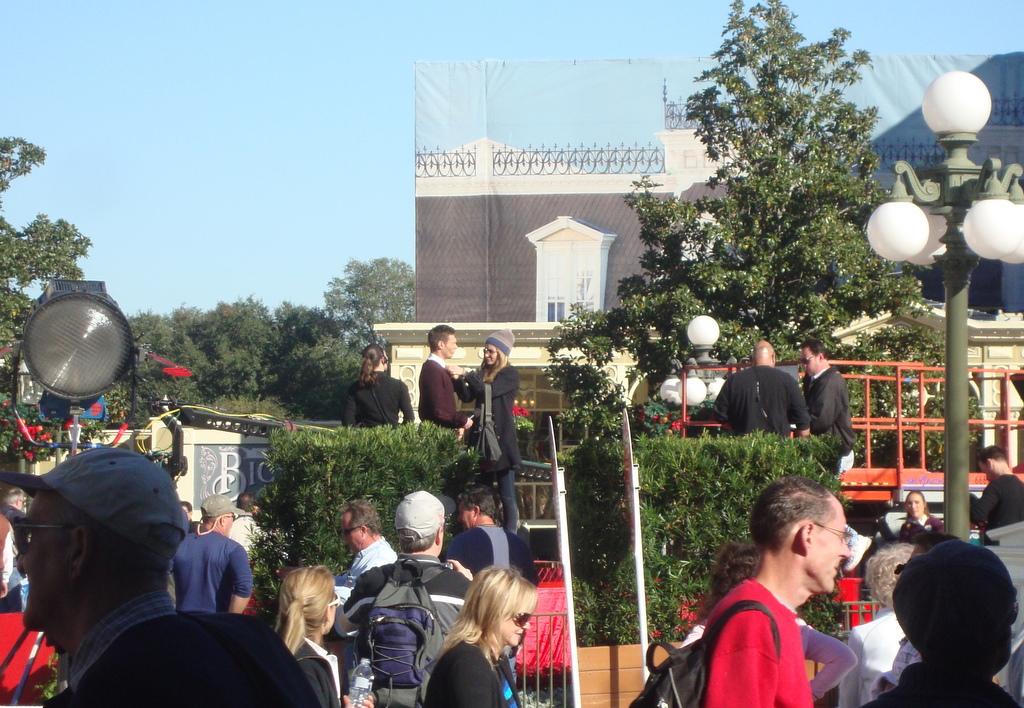 walt disney world 2015 christmas parade taping
