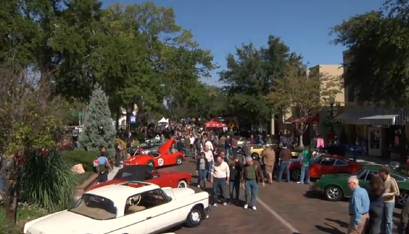 Winter Park Classic Car Show Concours DElegance On November - Car show orlando classic weekend