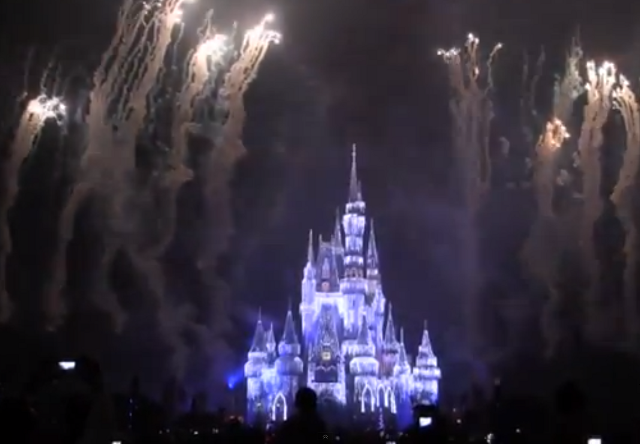 Holiday Wishes Fireworks Show at the Magic Kingdom