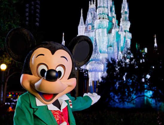 Mickey's Very Merry Christmas Party at the Magic Kingdom Celebrates the Holidays with Characters, Parades, and Fireworks in 2015