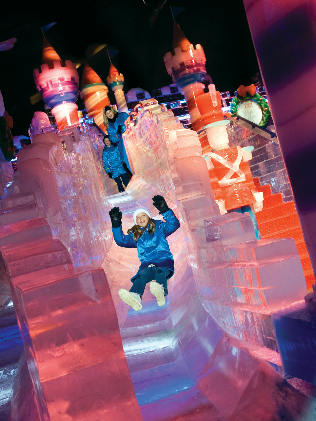 ice at the gaylord palms 2018 featuring twas the night before christmas - Christmas At Gaylord Palms