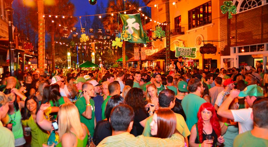 2016 st patrick s day celebrations in downtown orlando featuring