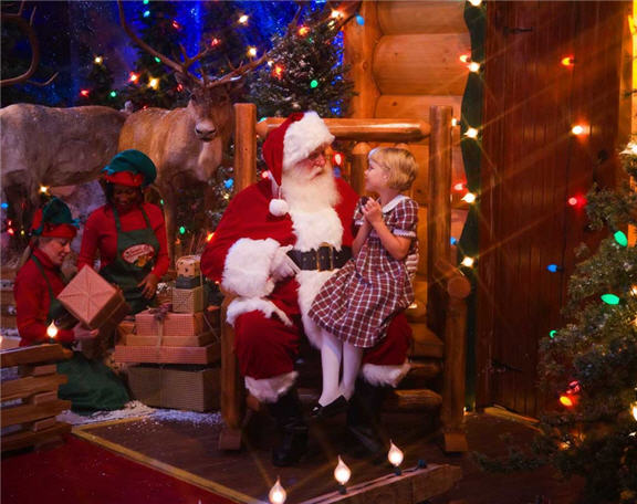 Free Santa Photo And Crafts At Bass Pro Shops In Orlando