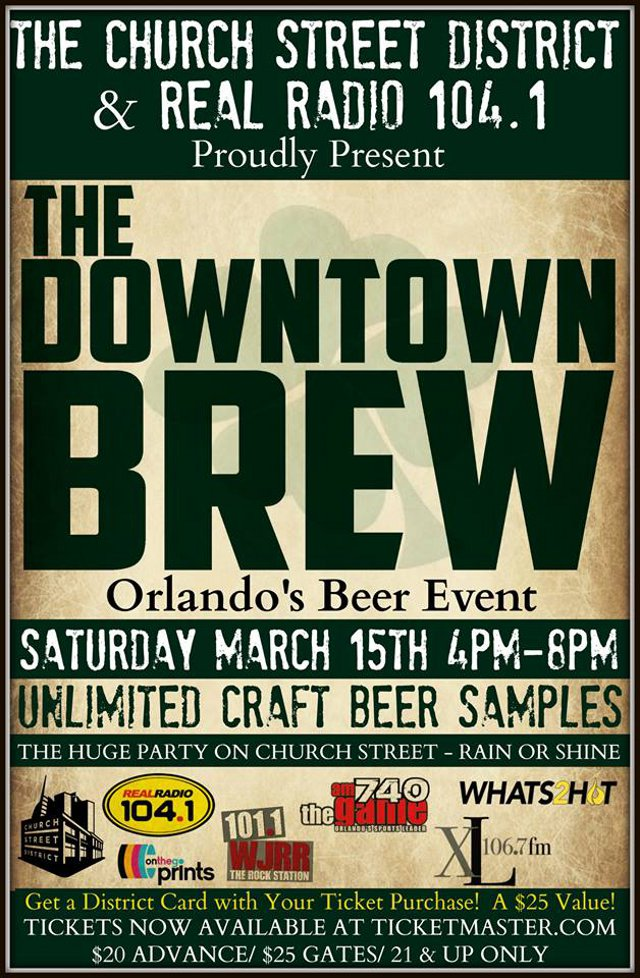 2015 St Patrick S Day Celebrations In Downtown Orlando